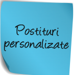 Postituri personalizate